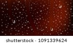 drops of water  dew falls.... | Shutterstock .eps vector #1091339624