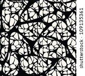 seamless mesh pattern. stylish... | Shutterstock . vector #109135361