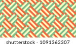 colored abstract geometric flat ... | Shutterstock . vector #1091362307
