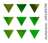 vector gradient reverse... | Shutterstock .eps vector #1091395709