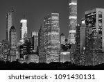Manhattan Skyline Over The...