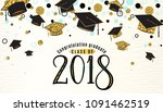 graduation background class of... | Shutterstock .eps vector #1091462519