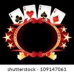 casino neon | Shutterstock .eps vector #109147061