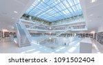 stuttgart library  germany  ... | Shutterstock . vector #1091502404