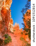 bryce canyon national park ... | Shutterstock . vector #1091512814
