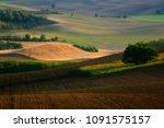 moravian fields  moravia  czech ... | Shutterstock . vector #1091575157