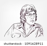 John Lennon Vector Sketch...
