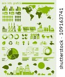 ecology info graphics collection | Shutterstock .eps vector #109163741
