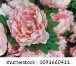 artificial flower image   Shutterstock . vector #1091660411