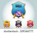 web banner template vector...   Shutterstock .eps vector #109166777