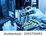 engineer technician computers... | Shutterstock . vector #1091724491