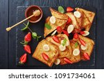 French Toasts With Appetizing ...