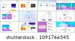 vector templates for website... | Shutterstock .eps vector #1091766545