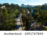 highway leading to san diego... | Shutterstock . vector #1091767844
