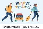 vector cartoon illustration of...   Shutterstock .eps vector #1091783657