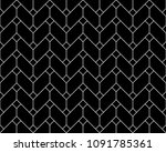 the geometric pattern with... | Shutterstock . vector #1091785361