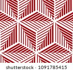 abstract geometric pattern with ... | Shutterstock . vector #1091785415