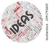 vector conceptual creative idea ...   Shutterstock .eps vector #1091793605