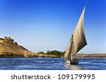 egypt. the nile at aswan. there ... | Shutterstock . vector #109179995