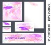set design templates....   Shutterstock .eps vector #1091808809