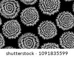 traditional black and white...   Shutterstock .eps vector #1091835599