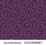 abstract geometric pattern with ... | Shutterstock .eps vector #1091898887