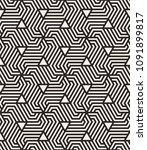 seamless pattern with geometric ... | Shutterstock .eps vector #1091899817