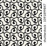 vintage floral seamless pattern.... | Shutterstock .eps vector #1091899847