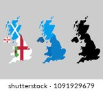 united kingdom countries... | Shutterstock .eps vector #1091929679