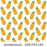 vector colored seamless... | Shutterstock .eps vector #1091951144