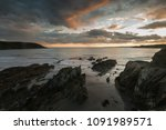 Small photo of Dunworley beach at sunset in West Cork on the stunning Wild Atlantic Way Ireland.