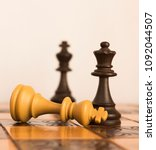 chess photographed on a...   Shutterstock . vector #1092044507