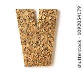 cork.alphabet.letter z  on... | Shutterstock . vector #1092054179