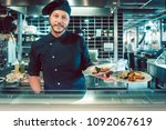 portrait of a confident and...   Shutterstock . vector #1092067619