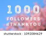 social media celebration banner ...   Shutterstock . vector #1092084629