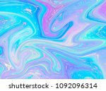 unicorn background with rainbow ... | Shutterstock .eps vector #1092096314