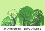 world environment day. earth... | Shutterstock .eps vector #1092096851
