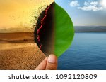 climate change and global...   Shutterstock . vector #1092120809