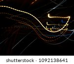 color magic line. abstract... | Shutterstock . vector #1092138641