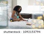african american college... | Shutterstock . vector #1092153794