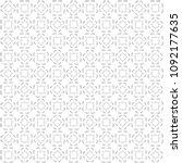 seamless abstract black texture ... | Shutterstock . vector #1092177635