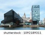 liverpool  uk    may 2018  old...   Shutterstock . vector #1092189311