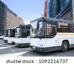 many tourist buses at the bus... | Shutterstock . vector #1092216737