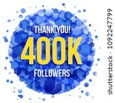 thank you design template for... | Shutterstock .eps vector #1092247799