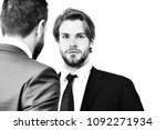 partnership and business ... | Shutterstock . vector #1092271934