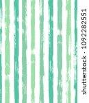 modern watercolor brush stripes ... | Shutterstock .eps vector #1092282551