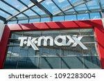 chester  uk    may 2018  tk...   Shutterstock . vector #1092283004