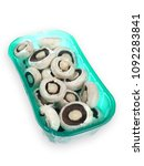 mushroom champignon familly | Shutterstock . vector #1092283841