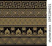 greek ornament. patterns in...   Shutterstock .eps vector #1092284021