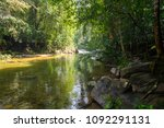river in the sinharaja forest... | Shutterstock . vector #1092291131